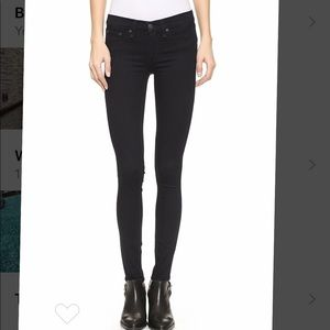Rag and Bone the legging jean